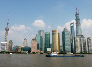 Shanghai - View of Pudong