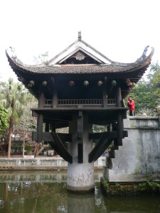 Hanoi - One Pillar Pagoda (2)